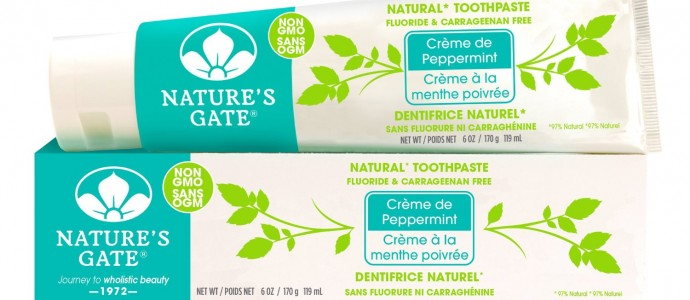 Nature's Gate Creme de Peppermint Natural Toothpaste